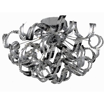 Presnell 19-Light Flush Mount