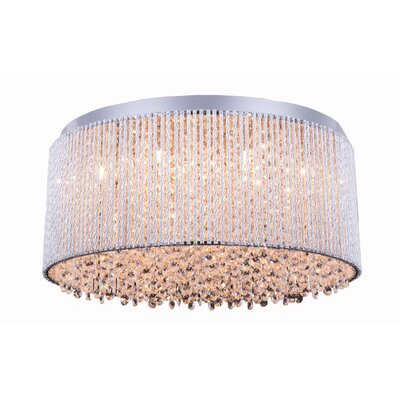 Larrison 12-Light Flush Mount