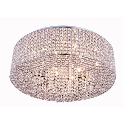 Lasater 10-Light Flush Mount