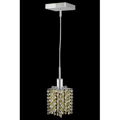 Primo 48-Light Crystal Chandelier Crystal Color / Crystal Trim: Lt. Topaz (Yellow) / Royal Cut