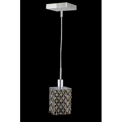 Primo 30-Light Flush Mount Crystal Color / Crystal Trim: Lt. Topaz (Yellow) / Royal Cut