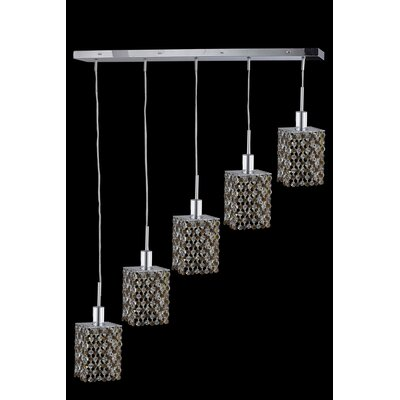 Primo 32-Light Crystal Chandelier Crystal Color / Crystal Trim: Lt. Peridot (Light Green) / Royal Cut