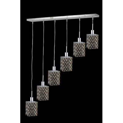 Primo 24-Light Flush Mount Crystal Color / Crystal Trim: Jet (Black) / Royal Cut