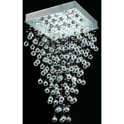 St. Francis 8-Light Crystal Chandelier Size / Crystal Grade: 20 / Elegant Cut