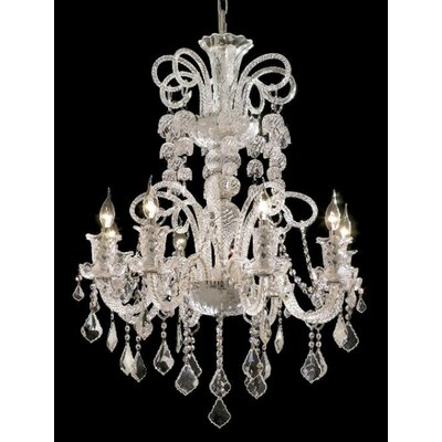 Primo 48-Light Crystal Chandelier Finish / Crystal Color / Crystal Trim: Chrome / Crystal (Clear) / Strass Swarovski