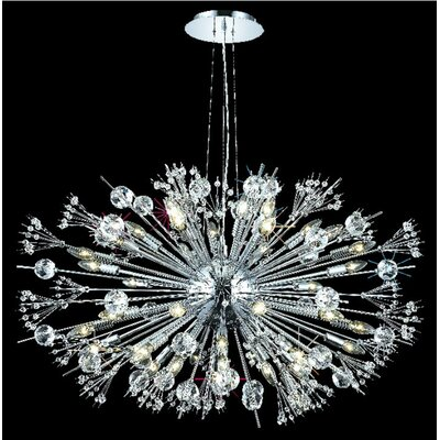 Drusilla 44-Light Cluster Pendant