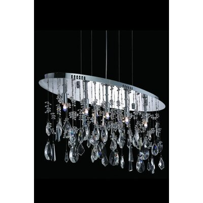 Delphinus 5-Light Crystal Pendant