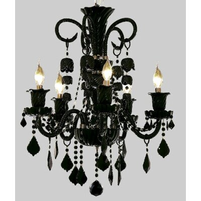 Spiral 26-Light Crystal Chandelier Finish / Crystal Color / Crystal Trim: Chrome / Crystal (Clear) / Strass Swarovski