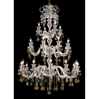 Primo 10-Light Flush Mount Finish / Crystal Color / Crystal Trim: Gold / Crystal (Clear) / Royal Cut