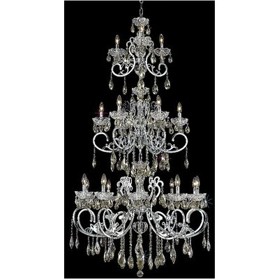 Tranquil 4-Light Flush Mount Crystal Color / Crystal Trim: Crystal (Clear) / Elegant Cut