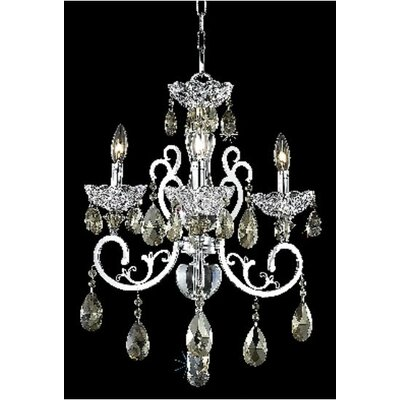 Spiral 22-Light Crystal Chandelier Crystal Color / Crystal Trim: Golden Teak (Smoky) / Royal Cut