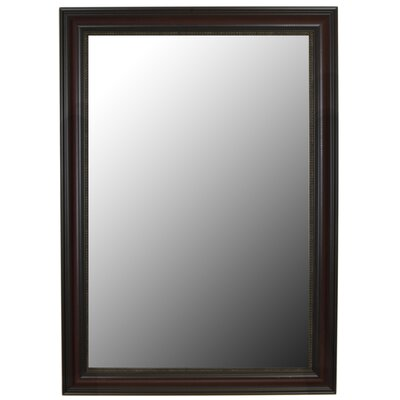 "Second Look Mirrors New Burmese Beaded Cherry Black Framed Wall Mirror - Size: 43"" H x 31"" W at Sears.com"