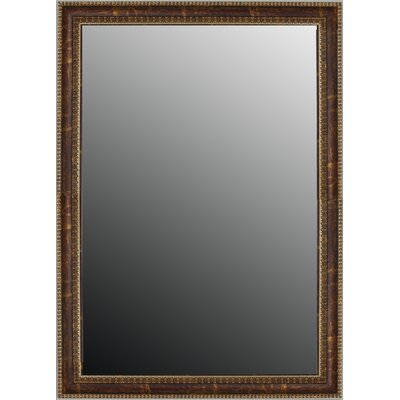 """Second Look Mirrors Copper Waves Framed Wall Mirror - Size: 41"""" H x 29"""" W"""