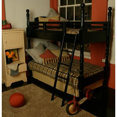 Taylor Cottage Twin over Twin Turned Post Bunk Bed