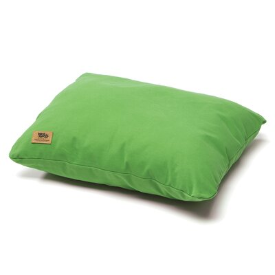 Pet Bed Pillow Color: Emerald, Size: Large - 32 L x 24 W
