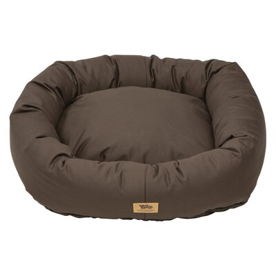 Pet Bumper Bed Color: Coffee, Size: Double Extra Large - 48 L x 39 W