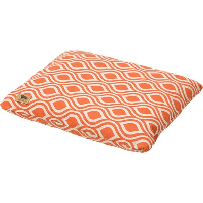 Geometric Pet Bed Pillow Color: Sunset Groove, Size: Double Extra Large (43 L x 32 W)