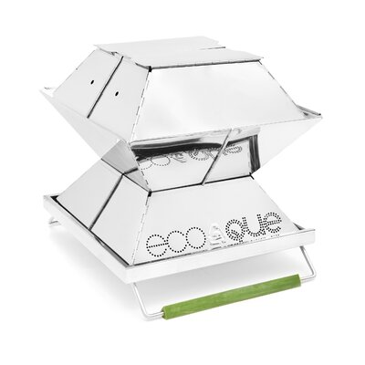 """EcoQue Portable 12"""" Stainless Steel Grill ECO-70120"""