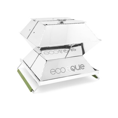 """EcoQue Portable 15"""" Stainless Steel Grill ECO-70150"""