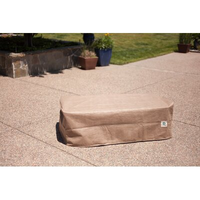 Patio Ottoman / Side Table Cover