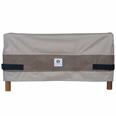 Elegant Ottoman/Side Table Cover Size: 18 H x 30 W x 25 D