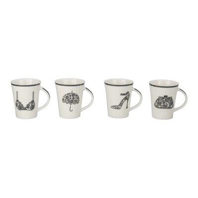 4 Piece Ladies Mug Set (Set of 4) 903161+B17