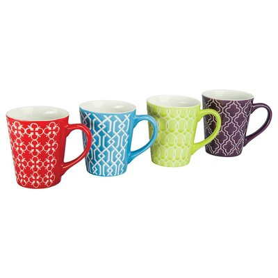 Mina Porcelain Mug (Set of 4) 403204+3024