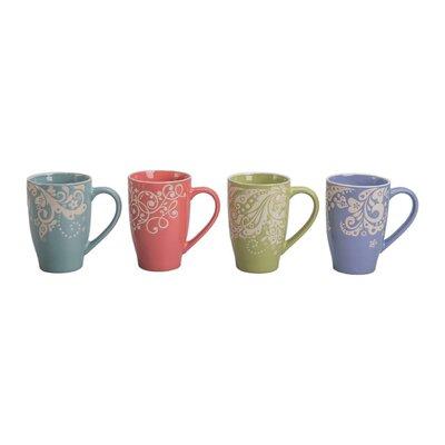 Floret Porcelain Mug (Set of 4) 403180+B52