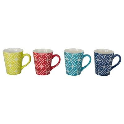 Lindsey Porcelain Mug (Set of 4) 403204+C17