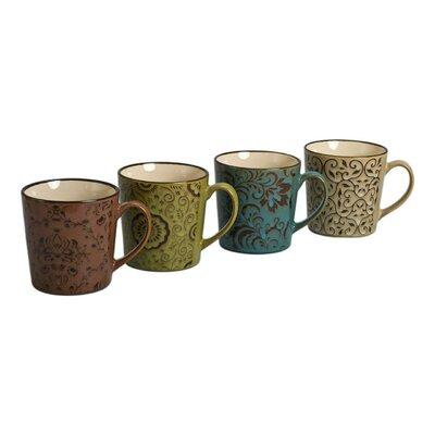 4 Piece 17 oz. Persia Mug Set (Set of 4) 403205+A43