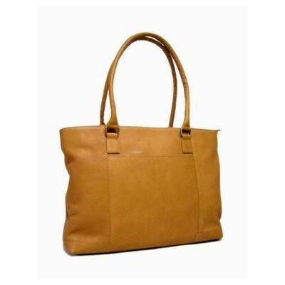 Women's Laptop Tote Bag Color: Tan