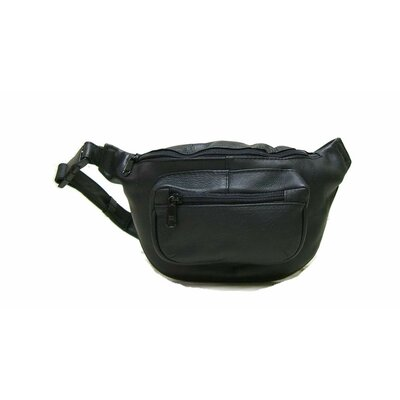 Le Donne Leather Kangaroo Waist Bag - Color: Black at Sears.com
