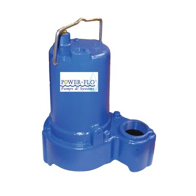 1/3 HP Sump/Effluent Submersible Pump with 7.5 Amps Manual Operation