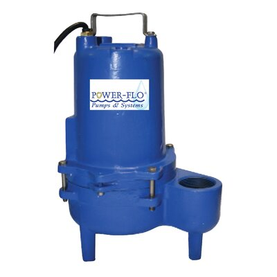 4/10 HP Sewage Submersible Pump with 12 Amps Manual Operation