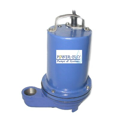 1/2 HP Effluent Submersible Pump with 14 Amps Manual Operation
