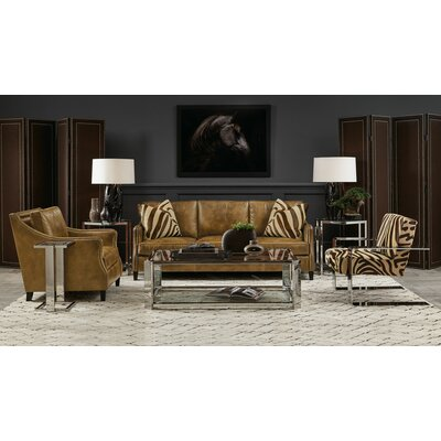 Allegra Metal 4 Piece Coffee Table Set