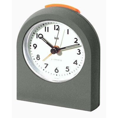 Pick-Me-Up Alarm Clock in Gunmetal 566.LA