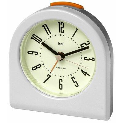 Designer Pick-Me-Up Alarm Clock in White 554.CW