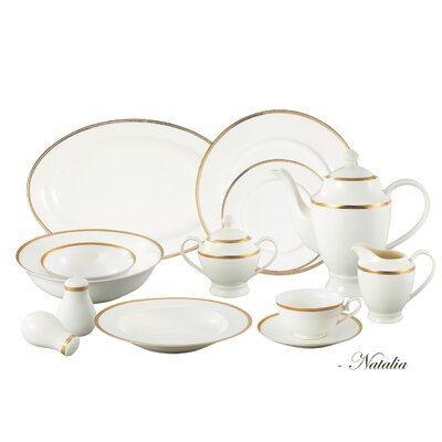 57 Piece Dinnerware Set Natalia