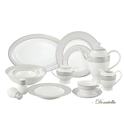 57 Piece Dinnerware Set Donatella