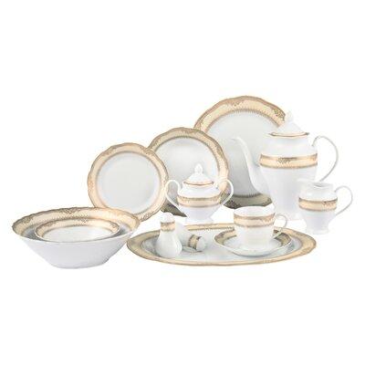 Isabella 57 Piece Dinnerware Set Isabella-57