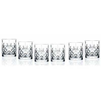 Melanie Crystal Double Old Fashioned Glass 238520