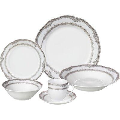 Victoria 24 Piece Porcelain Dinnerware Set Victoria-24