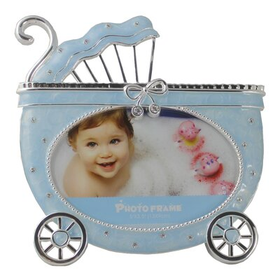 Carriage Picture Frame Color: Blue PF9041-B