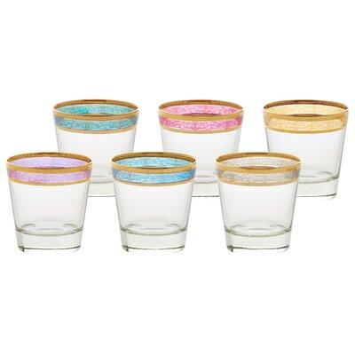 Melania Double Old Fashion 10 Oz. Glass Cocktail Glasses 9429