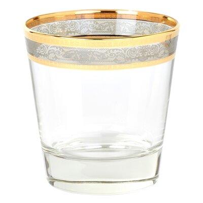 Melania Double Old Fashion 10 Oz. Glass Cocktail Glasses 9434
