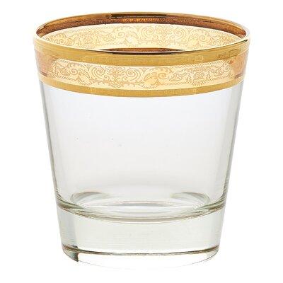 Melania Double Old Fashion 10 Oz. Glass Cocktail Glasses 9439