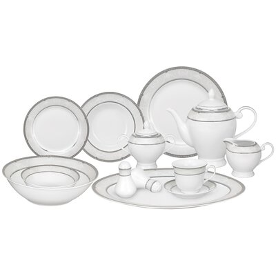 Ballo 57 Piece Porcelain Dinnerware Set Ballo