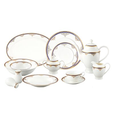 57 Piece Dinnerware Set Angela