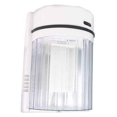 27 Watt 6500K Fluorescent Wall Light in White